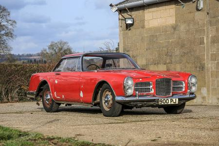 Classic & Sports Car – Barn-find Facel Vega show car to go under the hammer