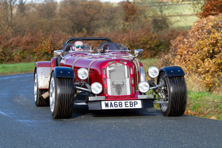 Kit-car firm Marlin offered for sale