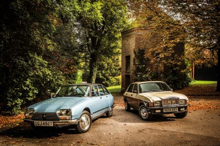 Classic & Sports Car – Avant-garde for the masses: Citroën GS Pallas vs Vanden Plas 1.7