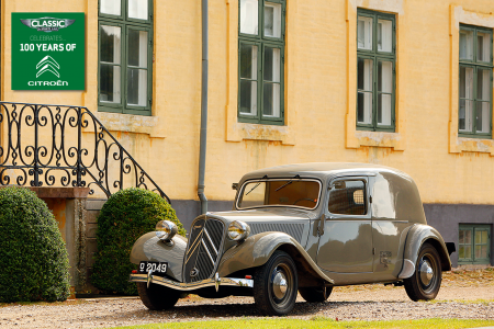 Classic & Sports Car – Citroën Traction Avant camionnette: van extraordinaire
