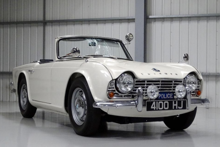 Classic & Sports Car – Triumph TR4 police car for sale with no reserve