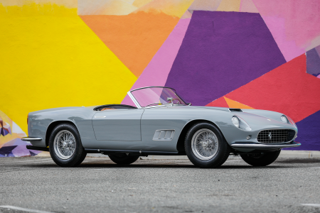Classic & Sports Car – $13m Ferrari 250GT California Spider joins Monterey gang