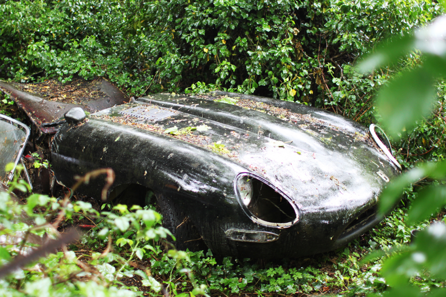 Classic & Sports Car – Epic restoration saves forest-find early E-type