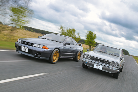 Classic & Sports Car – The sky's the limit: Nissan Skyline R32 meets 2000GT-R