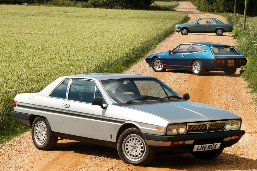 Classic & Sports Car – Luxury coupés: Mercedes 230CE vs Lotus Elite vs Lancia Gamma