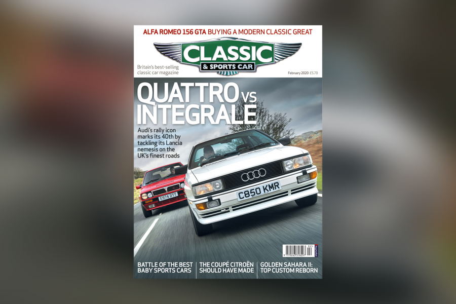 Classic & Sports Car – Quattro vs Integrale: Inside the February 2020 issue of C&SC