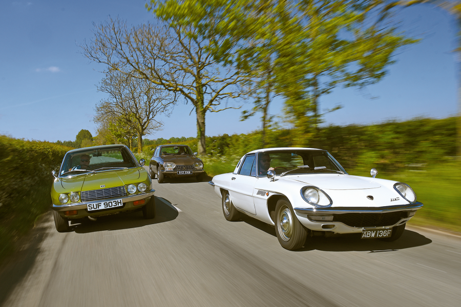 Wankel's rotary revolution, with Mazda Cosmo, NSU Ro80 and Citroën Birotor