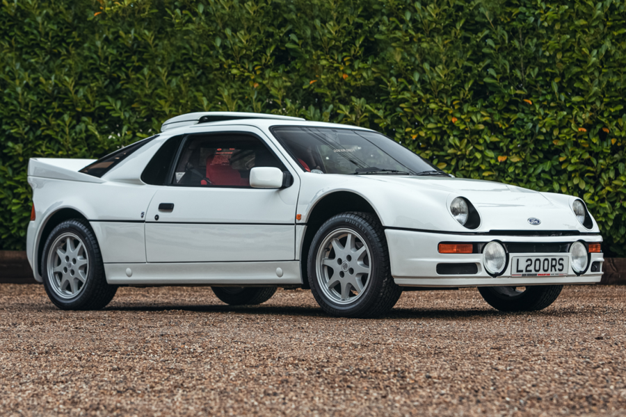 Classic & Sports Car – Super low-mile Ford RS200 set for Race Retro sale