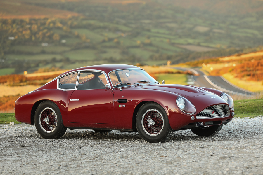 The lead lot in Gooding's London sale is probably this DB4GT Zagato
