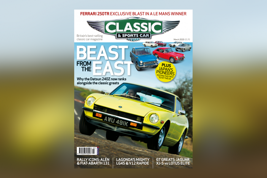 Classic & Sports Car – 240Z stars in Japanese special: Inside the March 2020 issue of C&SC