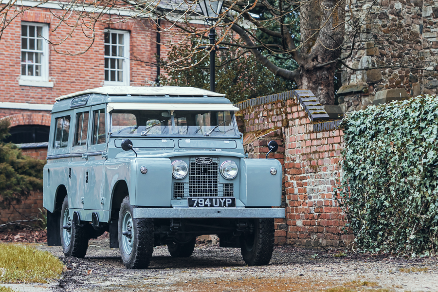 Classic & Sports Car – This super-early Series II Land Rover could be yours