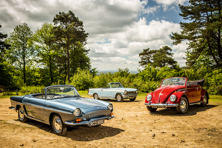 Classic & Sports Car – Sixties summer stunners: Herald vs Beetle vs Caravelle