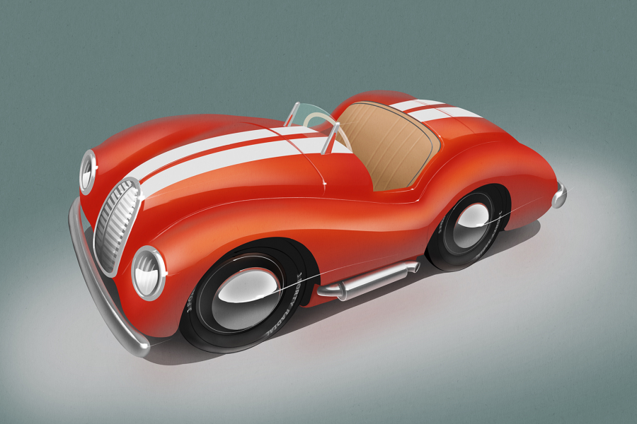 Classic & Sports Car – New Austin J40 pedal car concepts revealed