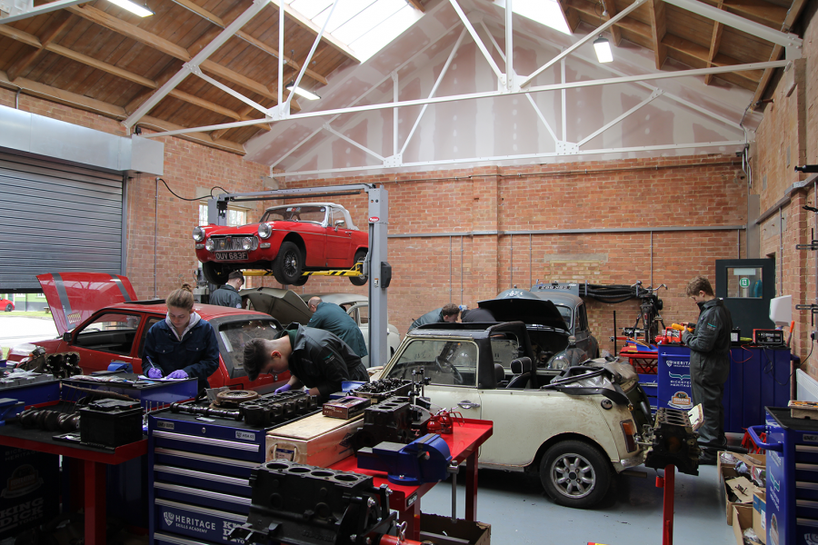 Classic & Sports Car – New Brooklands site for Heritage Skills Academy