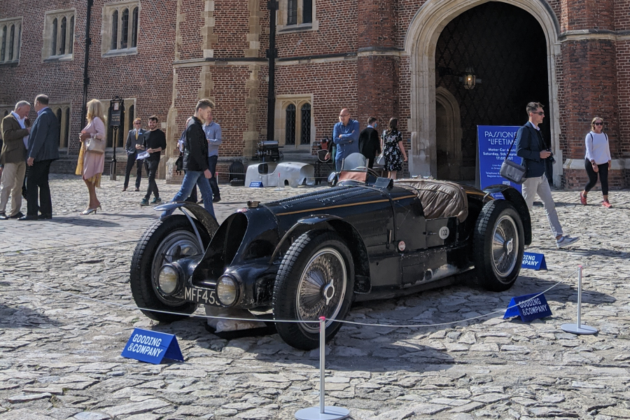 Classic & Sports Car – Records shatter at Gooding's Concours of Elegance sale
