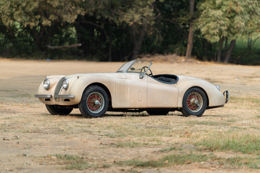 Classic & Sports Car – Garage-find Jaguar XK120 for sale this week