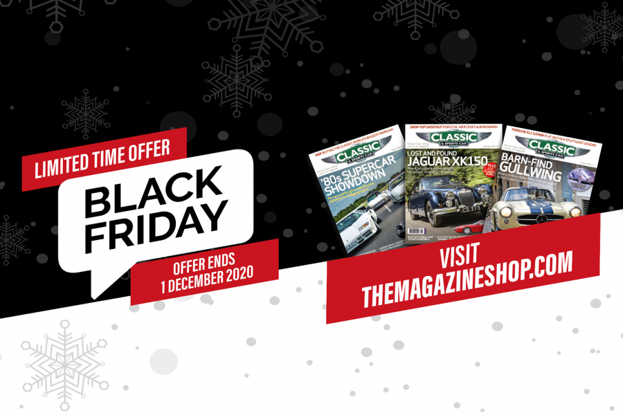 Classic & Sports Car – Don't miss our Black Friday subscription offers