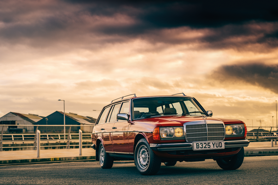 Classic & Sports Car – How Britain nearly missed Mercedes' brilliant 230TE