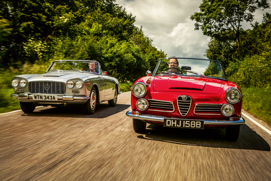 Classic & Sports Car – The art of Touring: Lancia Flaminia vs Alfa Romeo Spider