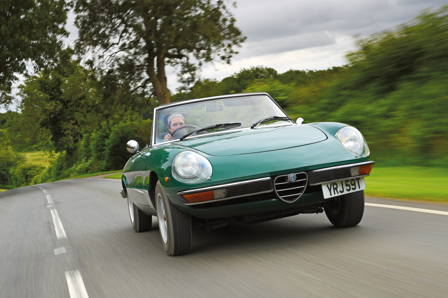Classic & Sports Car – Recapturing a much-loved Alfa Romeo Spider