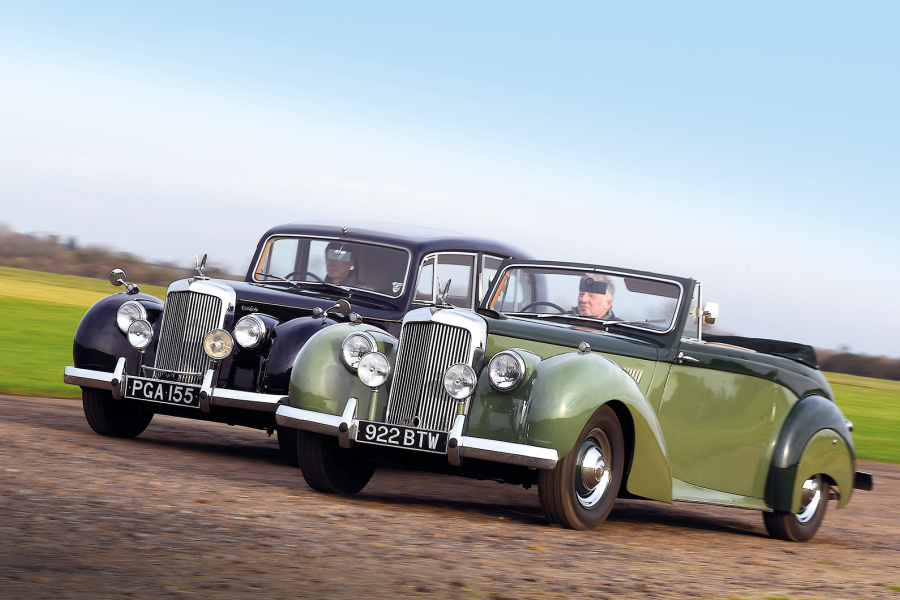 Classic & Sports Car – Shades of grey: in praise of the Alvis TC21/100 'Grey Lady'