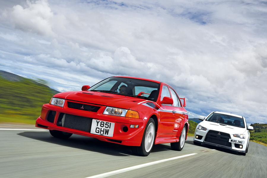 Classic & Sports Car – Signing off in style: Mitsubishi Lancer Evolution VI vs Evolution X