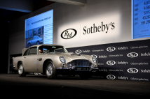 Classic & Sports Car – Bond DB5 sets new world record at Monterey sale
