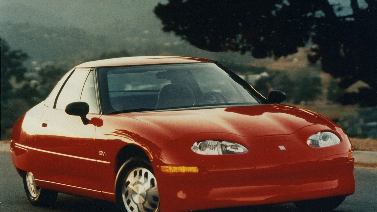 10 classic electric cars you never knew existed - General Motors EV1