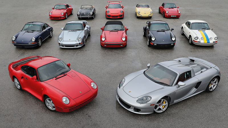 Is this the world\u0027s best collection of Porsche supercars