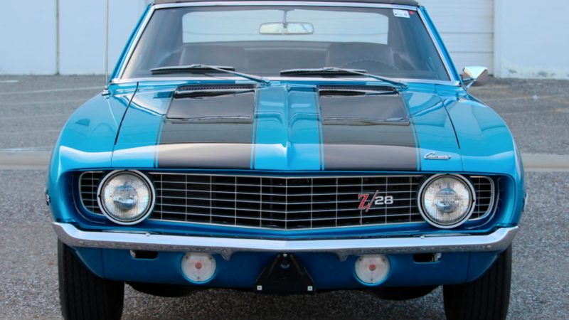Mean Muscle Cars Go To Auction Classic Sports Car
