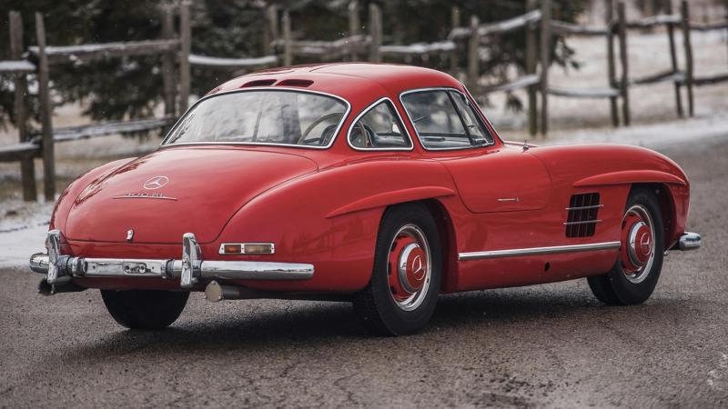 Museum Fresh Mercedes 300 Sl Gullwing To Sell For Charity Classic