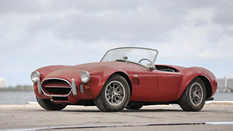 Barn-find Shelby 427 Cobra goes to auction | Classic