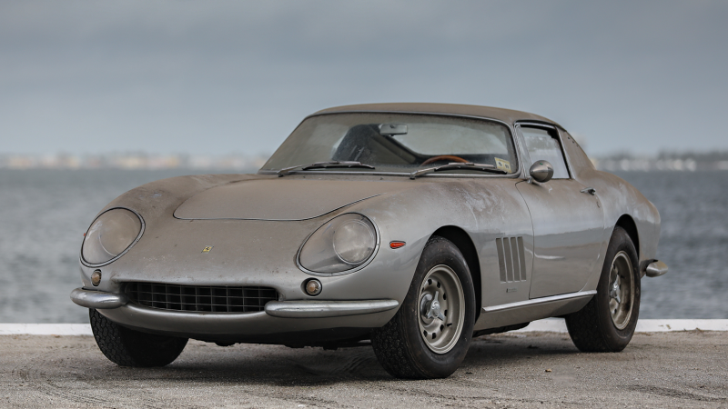 Stunning Barn Find Ferrari 275 Gtb Heads To Auction Classic Sports Car