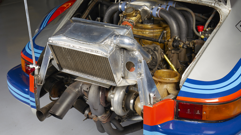Le Mans podium Porsche 911 Carrera RSR 2 1 Turbo - in
