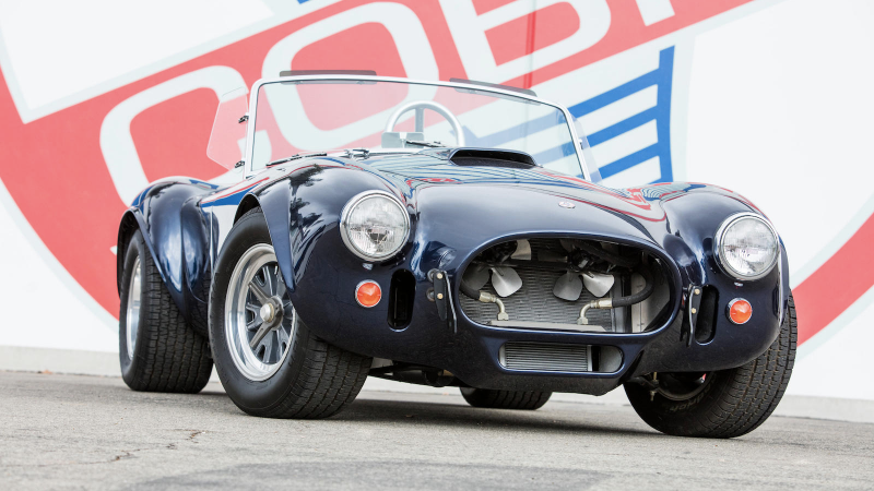 In Pictures Carroll Shelby S Car Collection Classic Sports Car