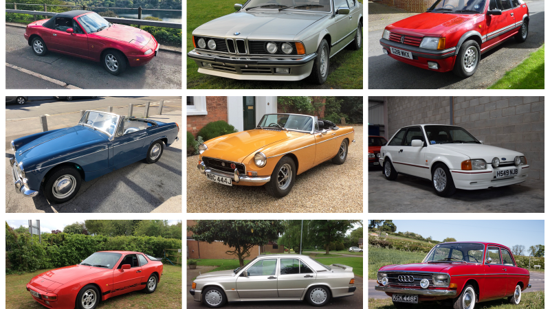 10 Under £10K: Bargain Classics You Can Buy Next Week