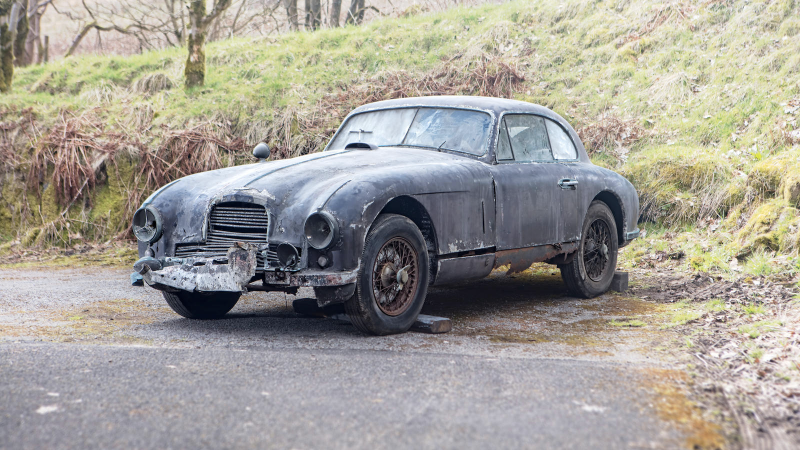 This Decrepit Aston Martin Could Be Yours For K Classic - Aston martin under 50k