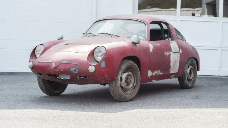 Rare Trio Of Tv Barn Find Fiat Abarths Set For Auction Classic