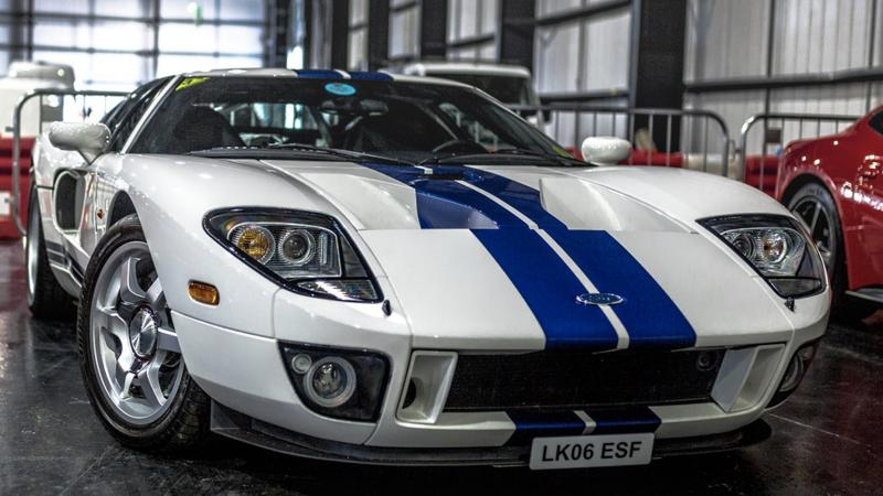 Fabulous Ford Gt To Lead Saturdays  M Silverstone Auction
