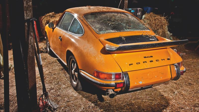 These forgotten Porsches were all found in barns