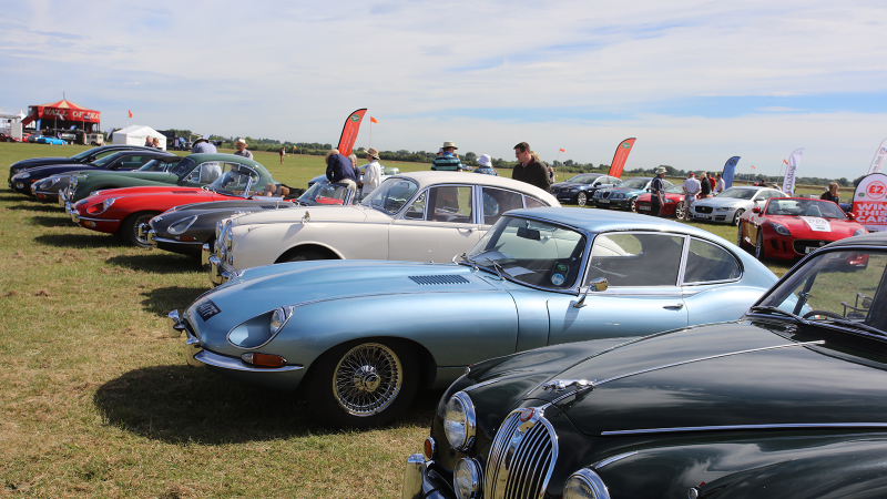 The sights and sounds of The Classic & Sports Car Show in association with Flywheel 2018 at Bicester Heritage