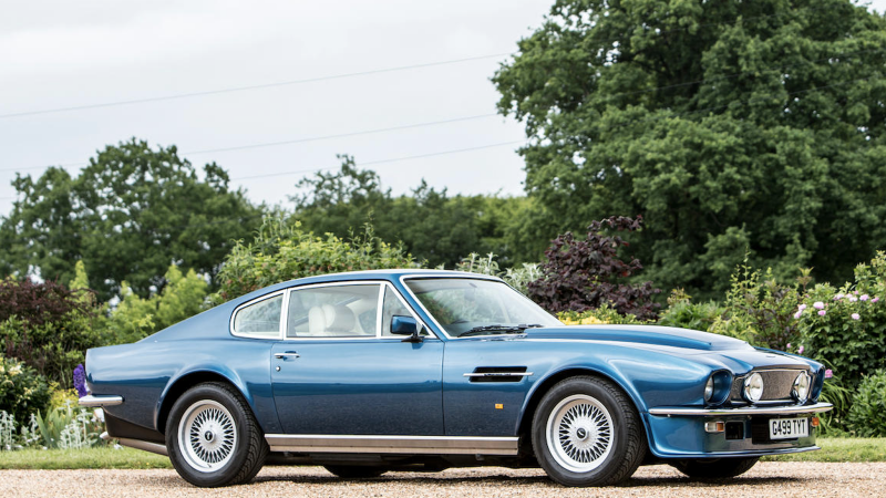 This Superrare Aston Martin Could Be The Most Expensive British Car - Aston martin v8 for sale