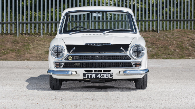 Lotus Cortinas driven by Jacky Ickx and Jim Clark to sell at auction