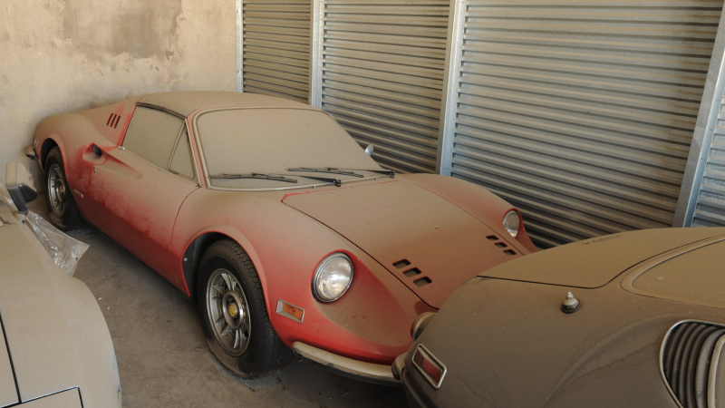 The Best Barn Find Ferraris Ever Classic Sports Car