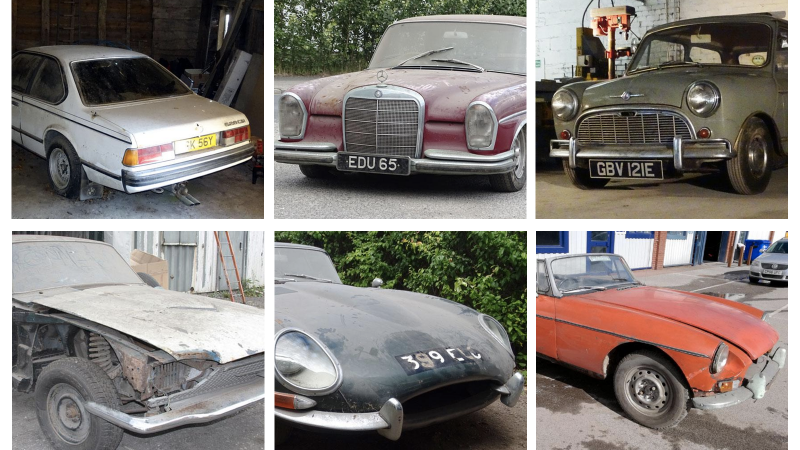 Six barn-finds you can buy this week | Classic & Sports Car