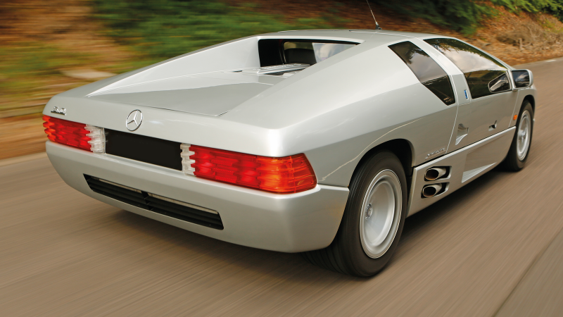 Meet the mysterious Mercedes prototype you've never heard of