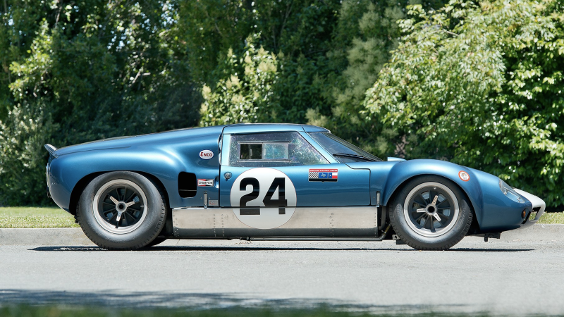This car inspired the Ford GT40