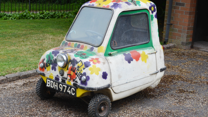 Peel P50 For Sale >> World's smallest car up for auction this week | Classic & Sports Car