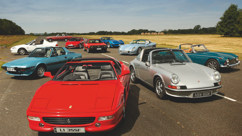 Delightful Ten Of The Best Classic Targa Top Sports Cars