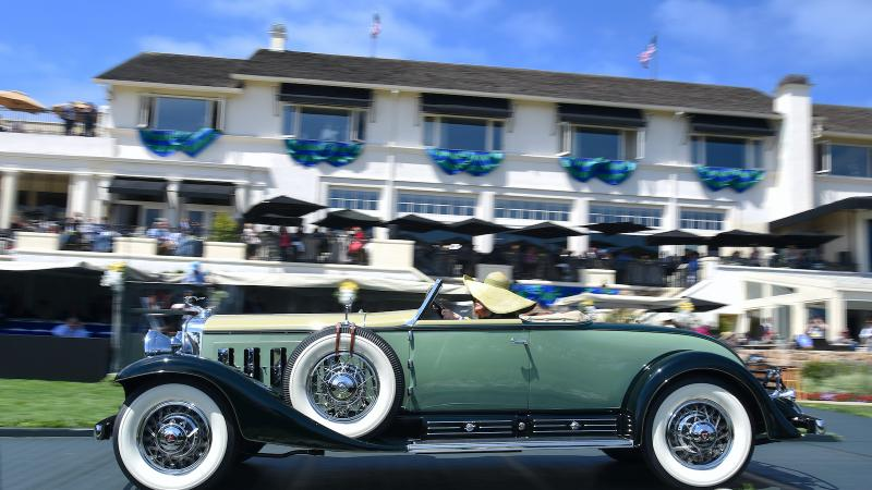 Highlights From Monterey Car Week In Pictures Classic - Monterey car show